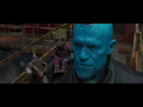 Guardians of the Galaxy Vol. 2 - Yondu arrow killing scene [HD]