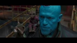 Guardians Of The Galaxy Vol. 2 - Yondu Arrow Killing Scene  Hd