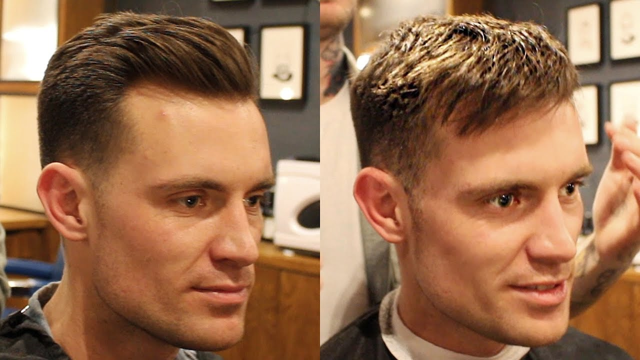 Swept Back 1 5 Fade Short Haircut For Men That Can Also Be Worn With