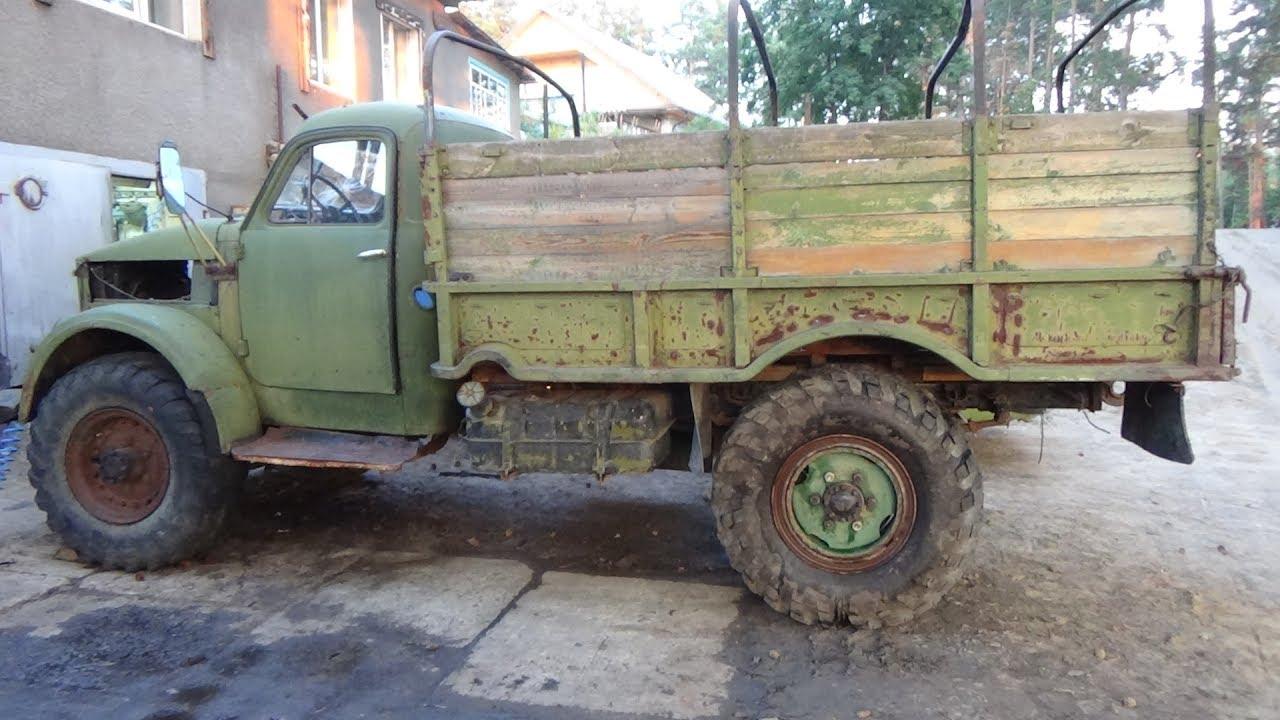 Ремонт ГАЗ-63 часть первая,перебортовка колёс ,ремонт тормозов.