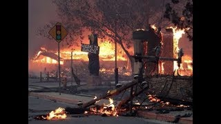 Wildfire:  Entire California Town Is Gone!