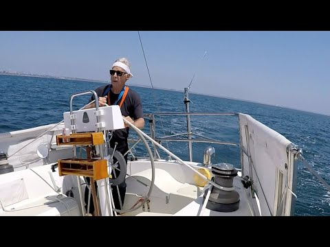 """Why We Sail--""""Cape Horn Steering Vane Install and Sea Trial"""""""