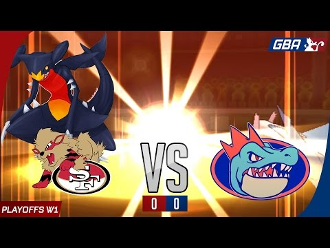 GBA S7 PLAYOFFS R1 - San Francisco Arcaniners vs Florida Gators (Pokemon Sun Wifi Battle)
