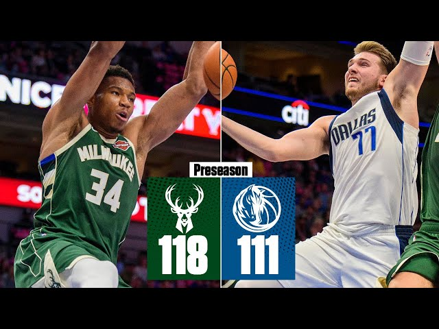 Giannis Antetokounmpo, Luka Doncic put on show in Bucks' win vs. Mavs | 2019 NBA Highlights