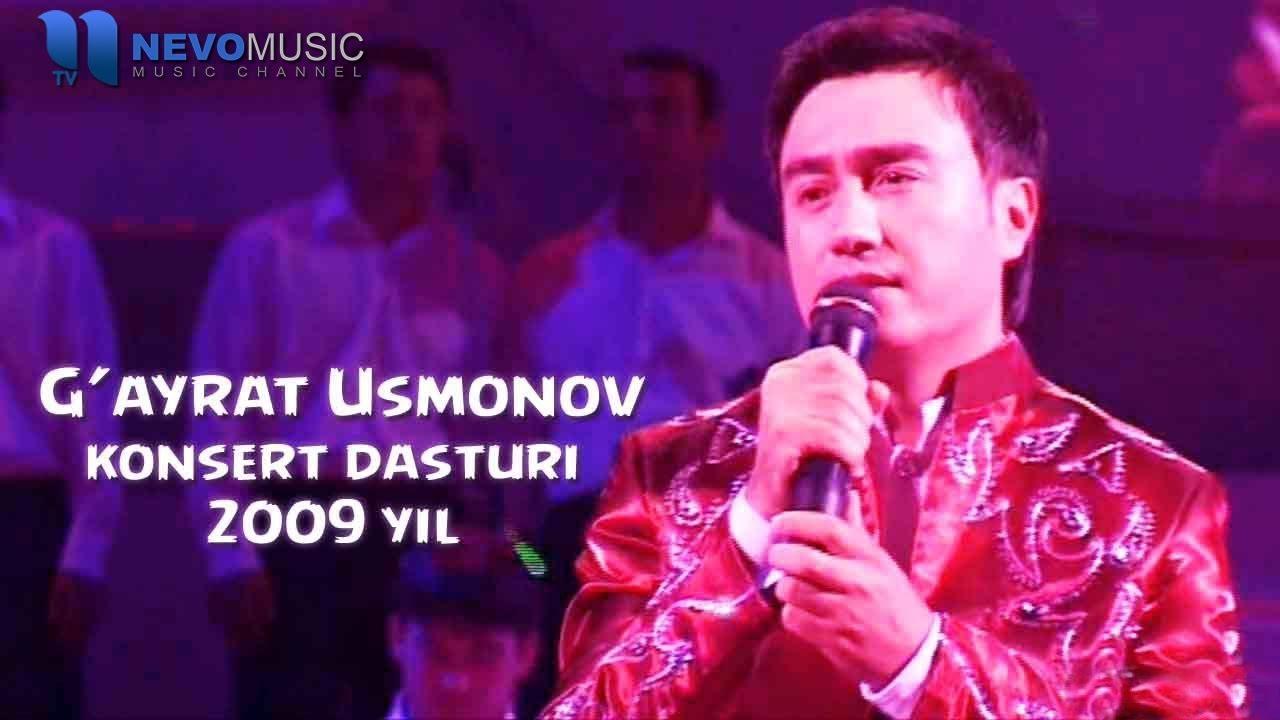 G'ayrat Usmonov - Konsert dasturi 2009
