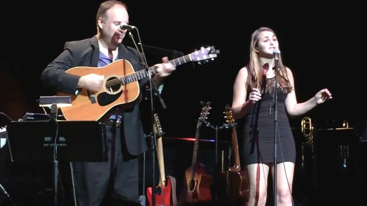 Rob Mathes Christmas Show 2020 Forever You'll Shine   ROB MATHES, with daughter SARAH MATHES