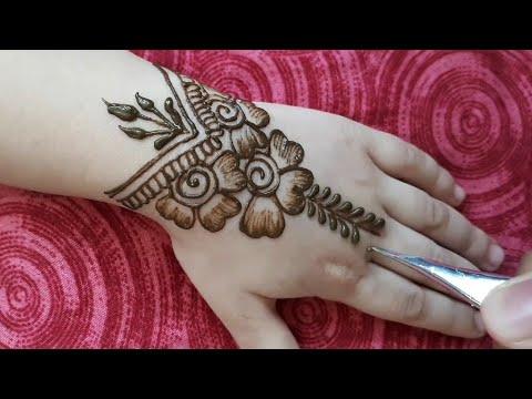 mehandi design for kids hand