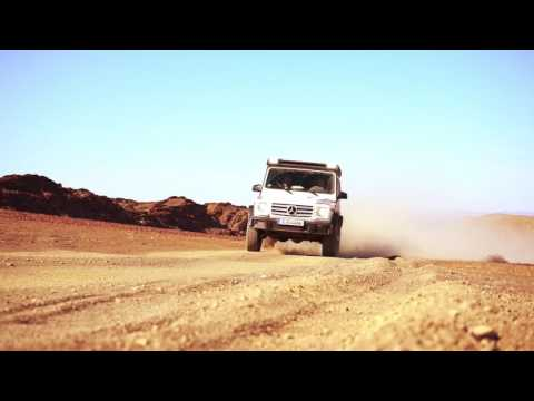 Pole2Pole: Mike Horn Expedition with the Mercedes-Benz G Class in Namibia