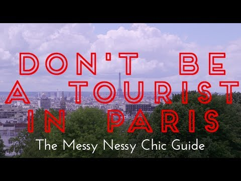 """Don't be a Tourist in Paris"" Book Trailer"