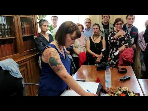 Ana Ermida toma posesión como alcaldesa