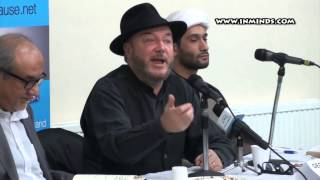 George Galloway at Streatham Mosque, 2 Mar 2014 [inminds.com]