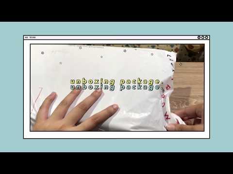 🌷mini stationery haul || shopee