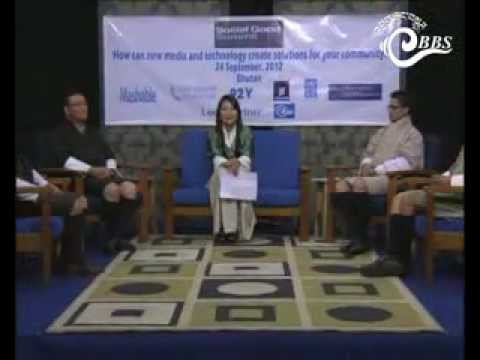 Social Good Summit in Bhutan