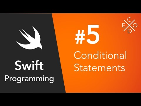 Swift 4 Programming #5 - Conditional Statements