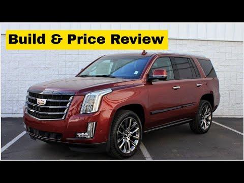2020 Cadillac Escalade Esv Premium Luxury 4wd Suv Build Price Review Features Trims Colors