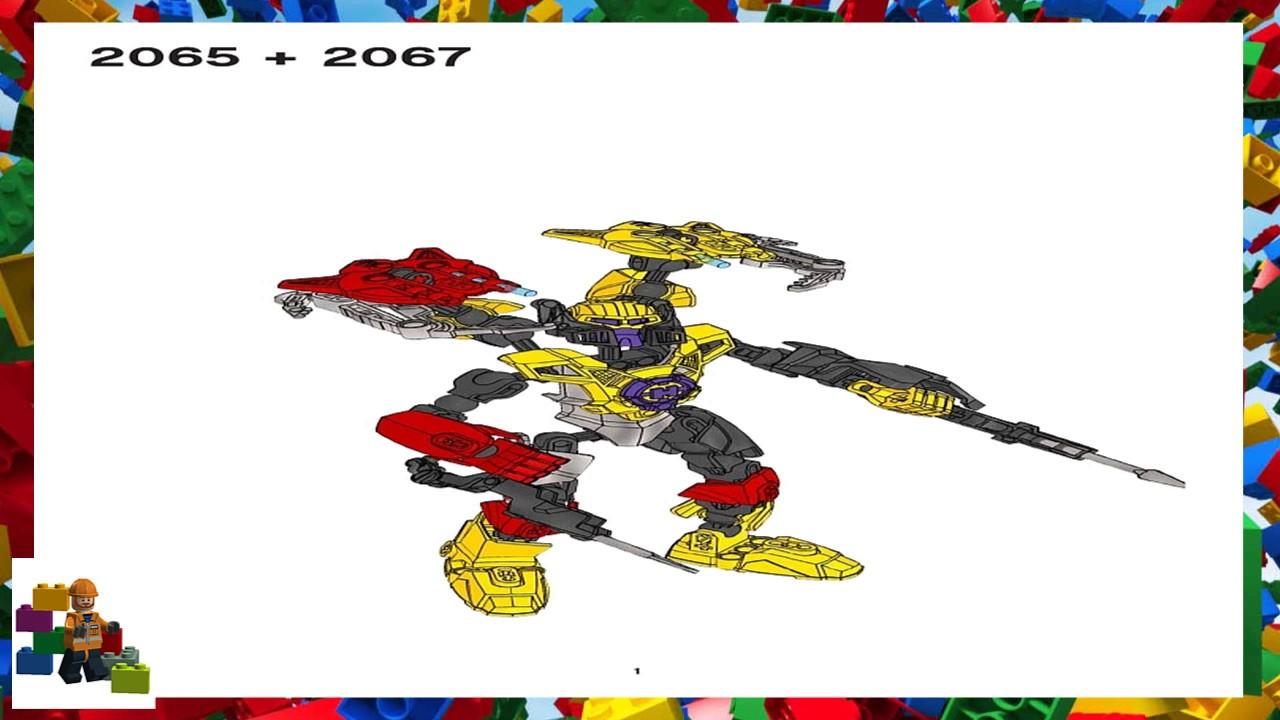 Lego Instructions Hero Factory 2065 Furno 20 2067 Evo 20