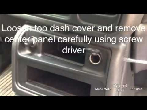How to repair accessory plug on 2005 Chevy Silverado truck - YouTube