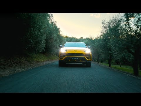 Lamborghini Urus – New Zealand Dynamic Launch