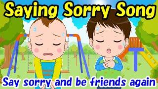 【Saying Sorry Song】Educational videos | Nursery Rhymes | Kids Songs | Lifestyle habits | HoppySmile
