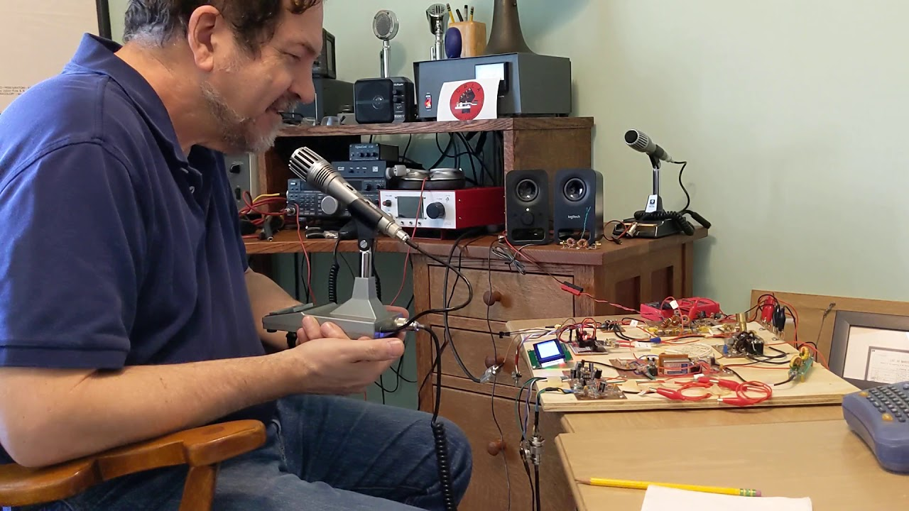 Furlough 40 - First Rag Chew QSO 0421202 with KM4UDX - YouTube