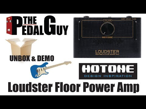 ThePedalGuy Unboxes and Demos the Hotone Loudster Power Amp