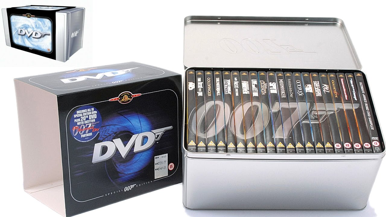 007 the james bond collection 20 disc box set review youtube