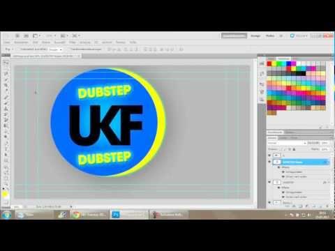 UKF Dubstep Logo Speedart - [HD]