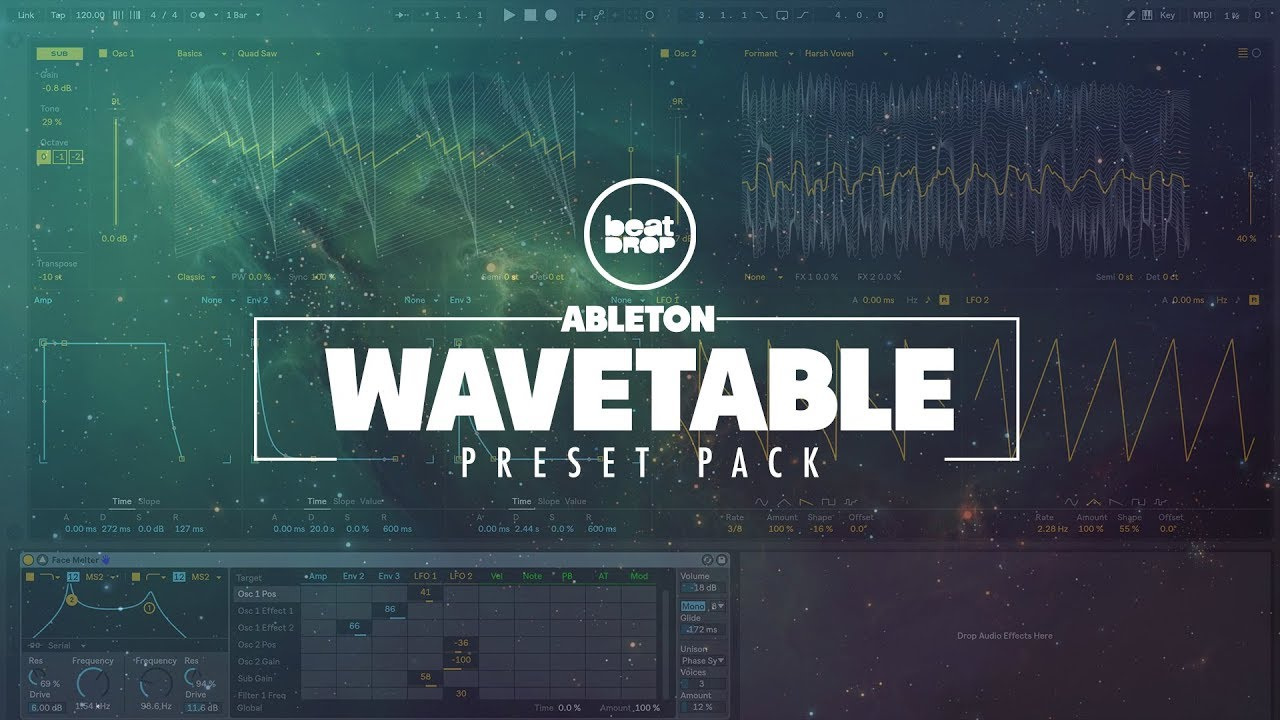 Ableton Wavetable - Preset Pack - Free Download