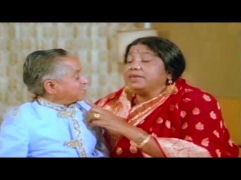 Tun Tun's Suhag Raat - Comedy Scene @ Heeron Ka Chor - Mithun, Bindiya Goswami