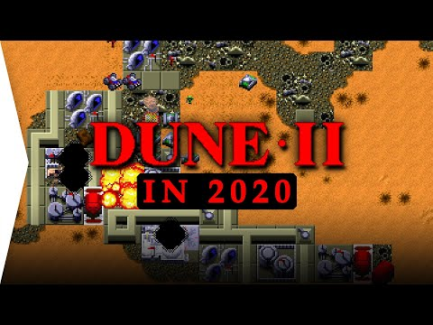 The First RTS Remastered! ► Dune II In 2020 - Open Source Mod For Modern Gameplay With Dune Legacy