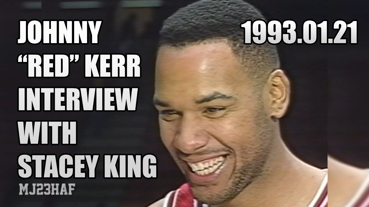"John ""RED"" Kerr Post Game Interview with STACEY KING 1993 01 21"