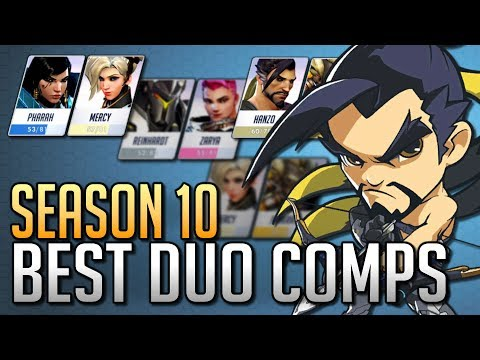 Best Hero Comps for DUO QUEUE in Season 10 | Overwatch