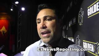 Oscar De La Hoya: Five Years Ago Pacquiao Would Have Destroyed Mayweather