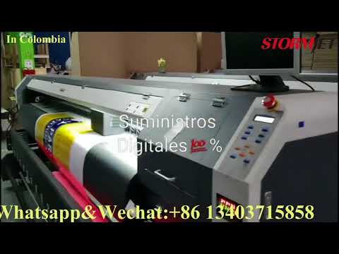 StormJet 320cm Heavy-duty Eco Solvent Printer in Colombia