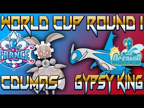 World Cup of Pokémon XII-Round 1: Cdumas vs Gypsy King (Sun&Moon OU) w/BTB