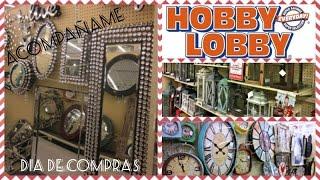 🚗😍Ven conmigo de compras|Hobby Lobby|SUSCRIBANSE.