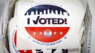 NYC voters pick mayoral nominees as city faces steep recovery