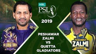 Match 23: Full Match Highlights Peshawar Zalmi Vs Quetta Gladiators   HBL PSL 4   HBL PSL 2019