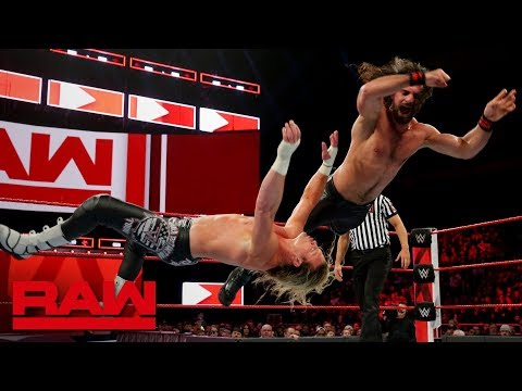 Seth Rollins and Dolph Ziggler reignite Intercontinental Title rivalry: Raw, Nov. 26, 2018