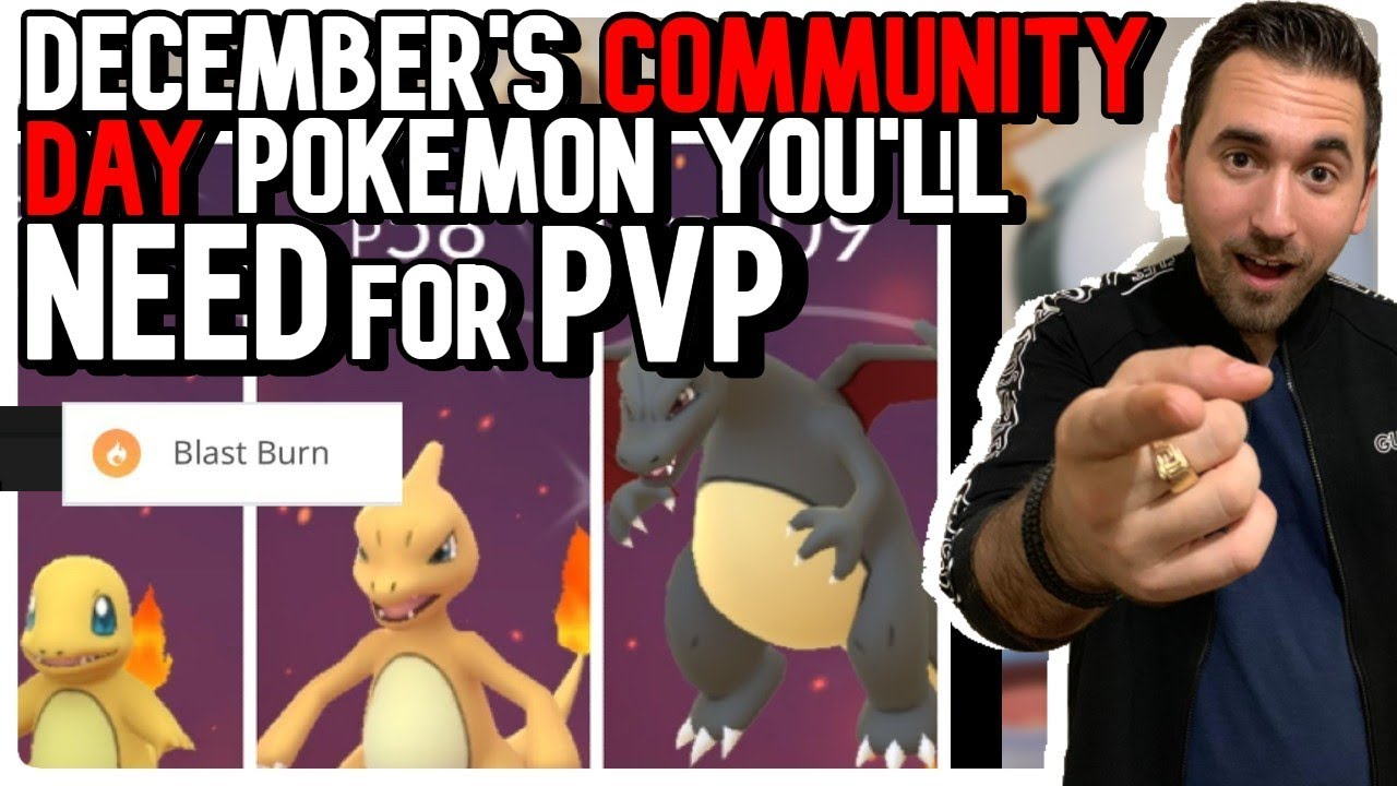 Download December COMMUNITY DAY POKEMON You'll NEED FOR PVP