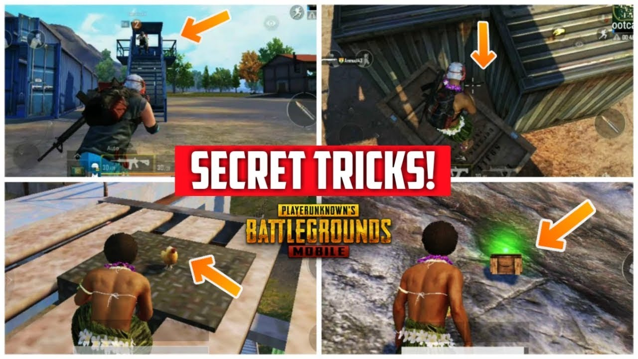 Pubg Mobile Secret Tricks For Pro Players Latest Tips Cash Uc And Hindi