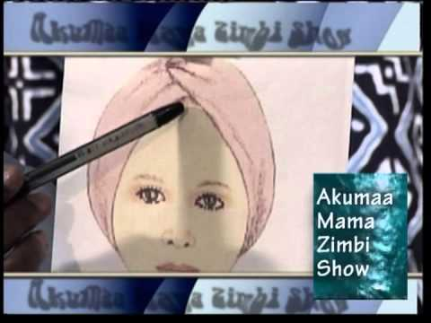 Having a Ghanaian Make-Up with Mama Zimbi