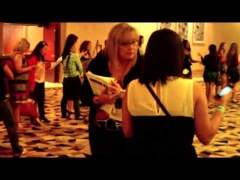 Registration and Wrist Band Pickup at Vampire Diaries Convention 2013 at Rio Hotel in Vegas