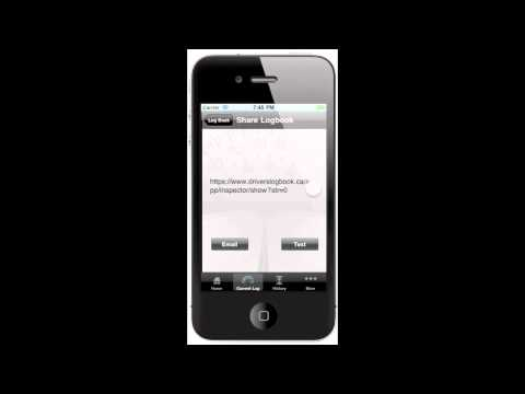 Drivers Daily Logbook for iPhone (Drivers Daily Log)