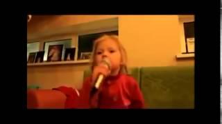 Детские приколы Видео смешное до слез  девочка поет Лепса