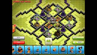 Clash of Clans- TH9 Farm base- The Toxin