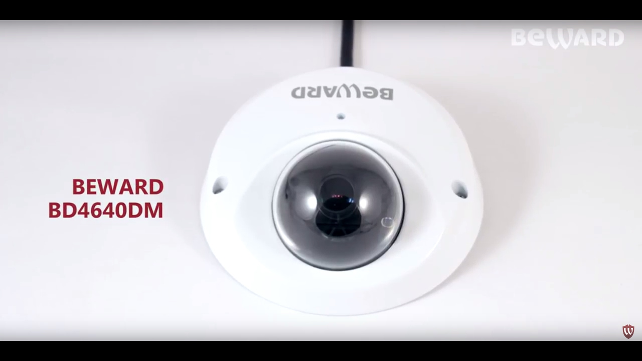BEWARD BD4640DM, запись с камеры, день - YouTube