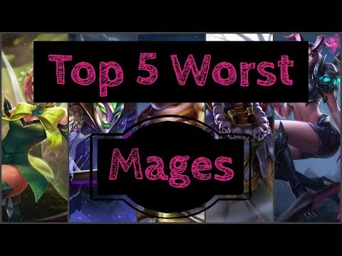 Top 5: Worst Mages - Arena of Valor