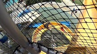 Yellow Ziggy Water Slide at Jogja Bay Waterpark