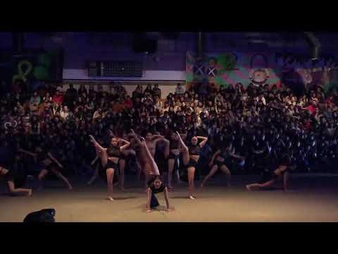 DBHS Rally 2018 JAZZ DANCE TEAM